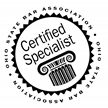 Luther Liggett Certified Specialist stamp